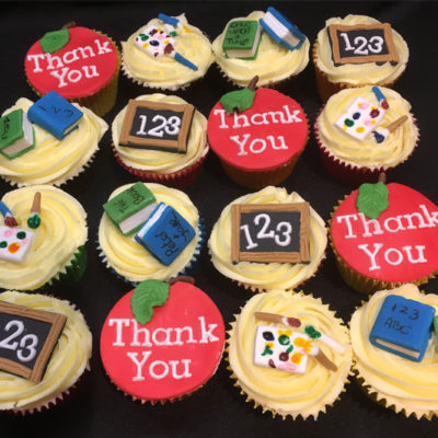 Thank You Teacher - Cupcakes
