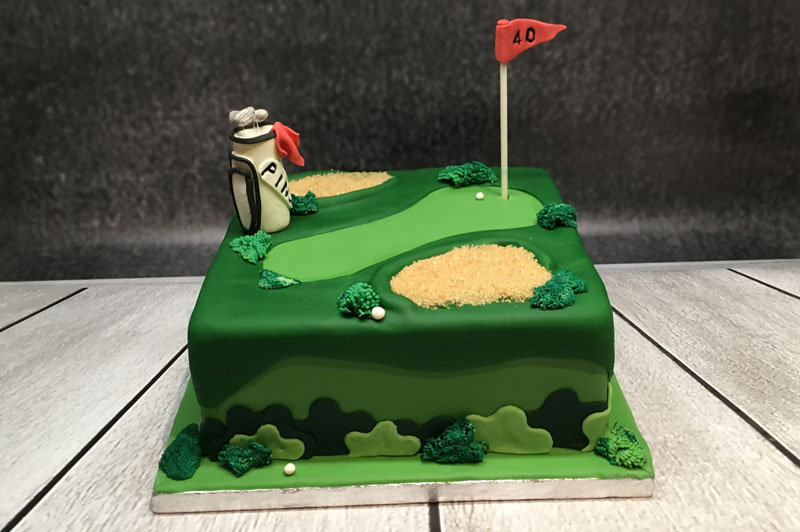 Golf Cake - Novelty Birthday Cake